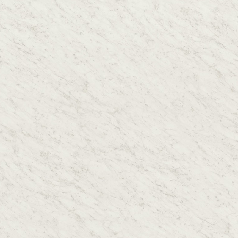 A classic Italian white marble having dense, low contract, smaller grey vein structure.