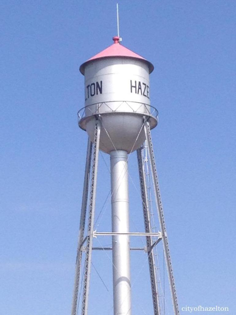 Hazelton, ND Water Tower!