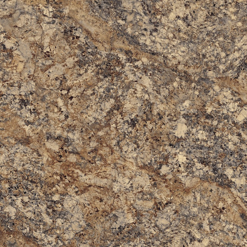Brazilian granite featuring large-scale areas in rich red-browns with cool grey and cream accents.