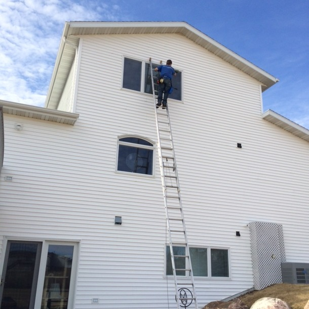 Residential ladder-work