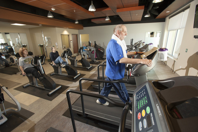 Cardiac Rehab Optimal Fit Gym