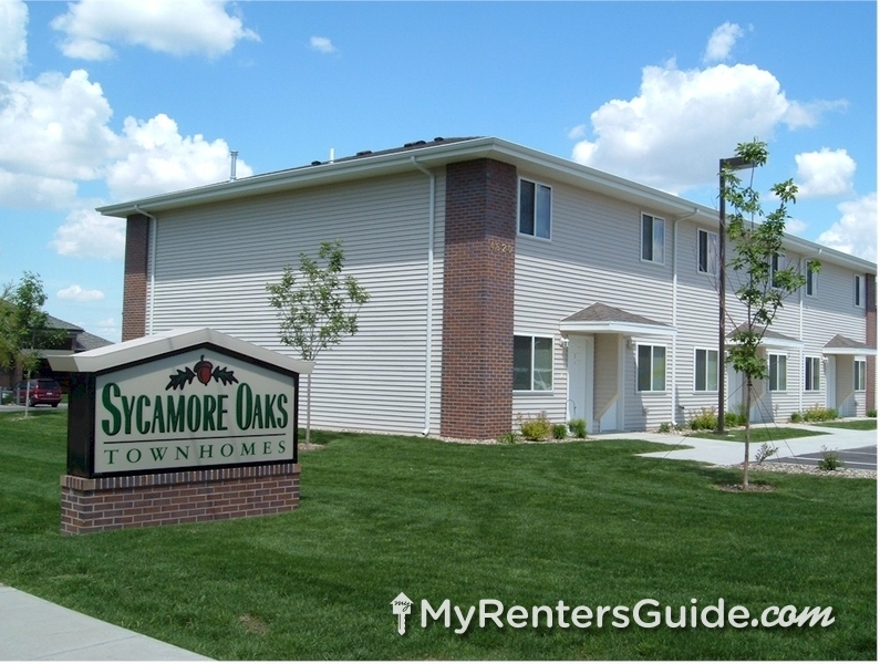 Sycamore Oaks Townhomes Apartments For Rent Sioux Falls Myrentersguide