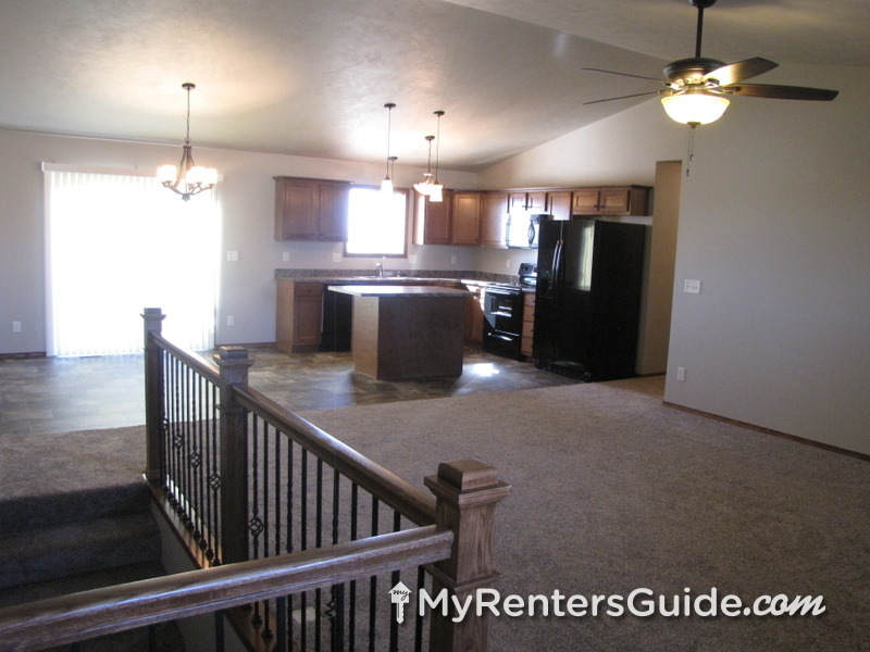 Open Kitchen, Dining and Living Room (upper)